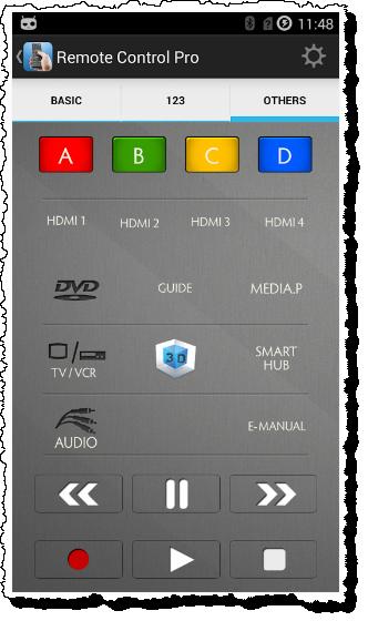 Control most TV's