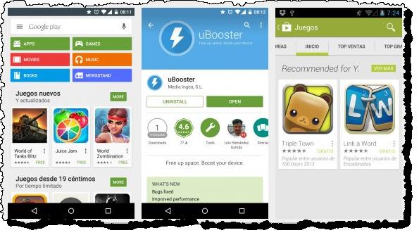 Google Play на Андроид