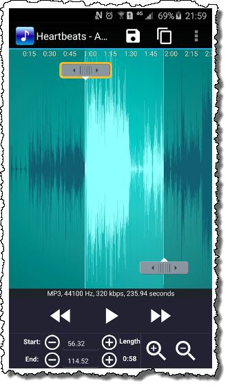 Музыки редактирования андроид на для приложения