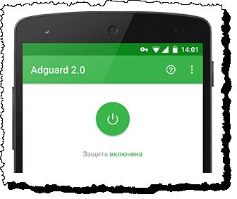 Успешная установка Adguard