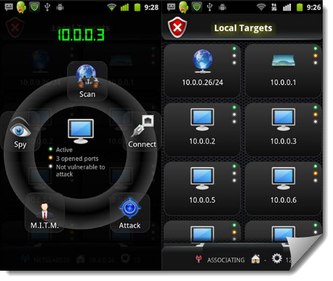 Android network toolkit