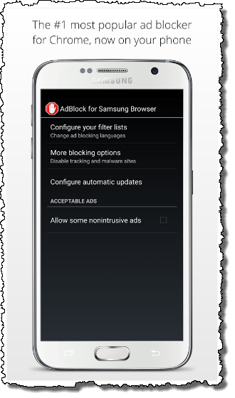 AdBlock for Samsung Internet