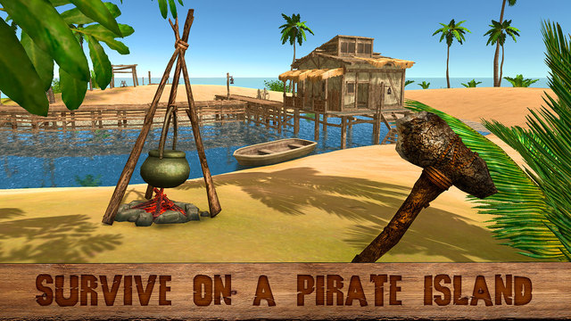 Pirate Island Survival Simulator 3D