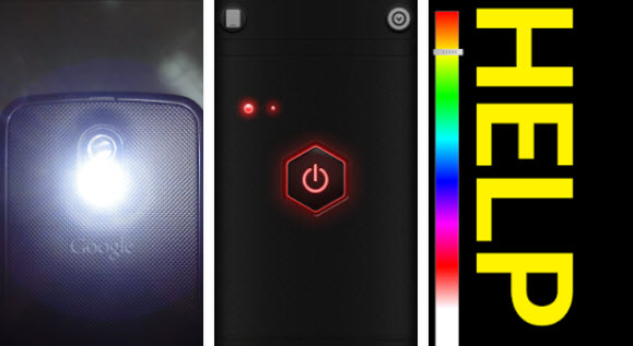 Цвет Фонарик HD LED