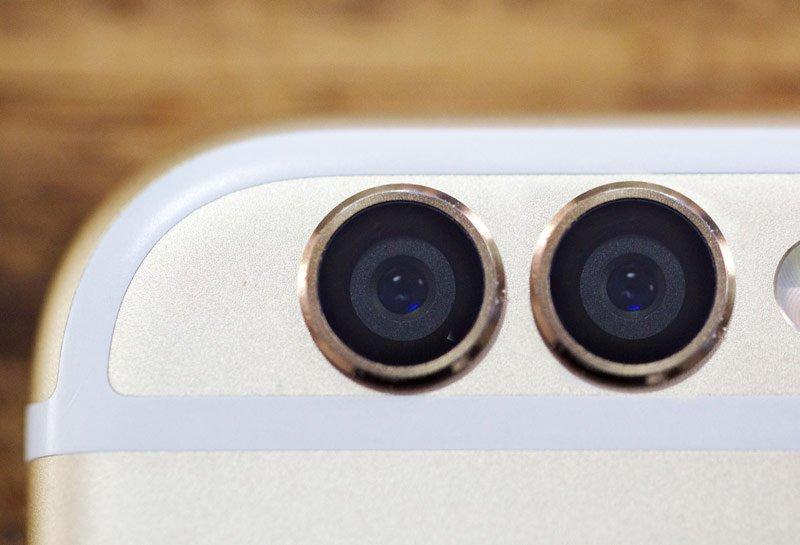 Двойная камера на смартфоне