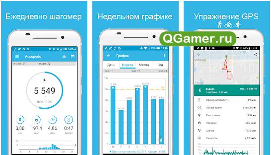 ТОП-3 самых лучших приложения для измерения количества шагов на Андроид