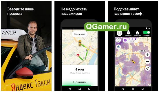 Полезные приложения на Андроид для таксистов