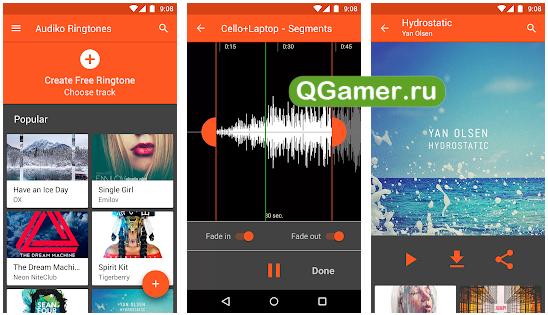 ТОП-5 лучших приложений для работы с рингтонами на Android