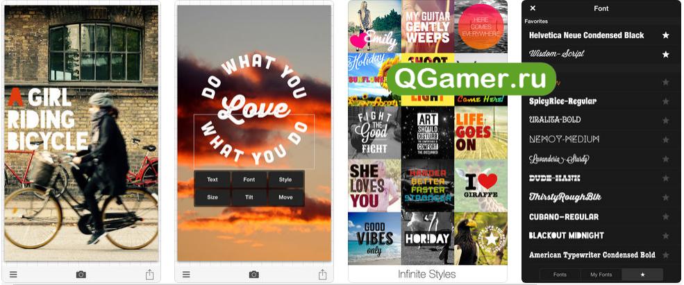 ТОП-7 крутых приложений на iPhone для наложения красивого текста на фото