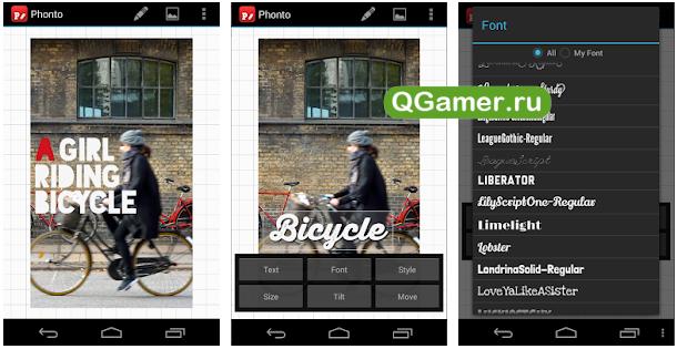 ТОП-5 Андроид приложений для наложения красивого текста на фото