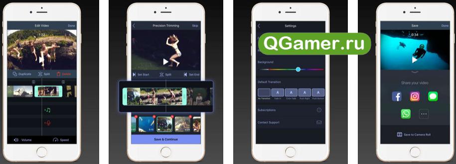 ТОП-5 приложений для создания эффектного видео с нуля на iPhone