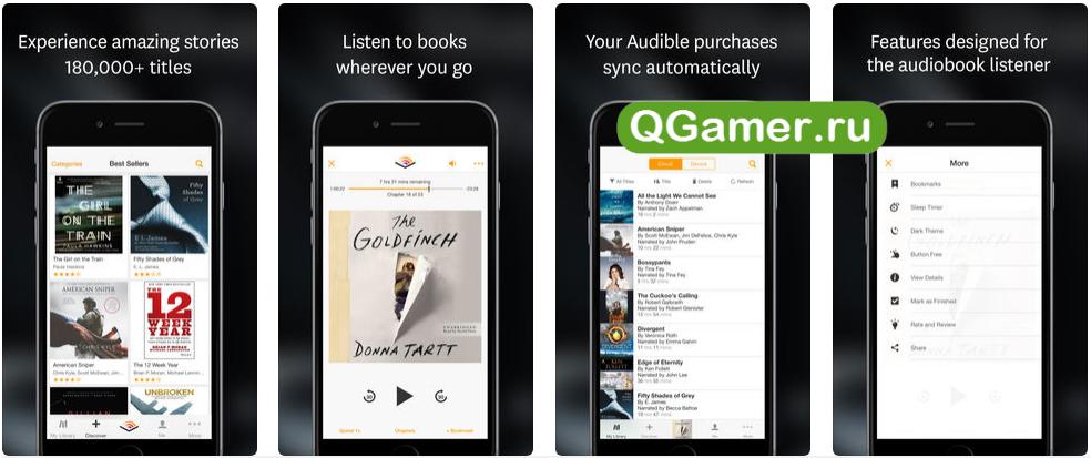 ТОП-5 лучших приложений для прослушивания аудиокниг на Айфоне