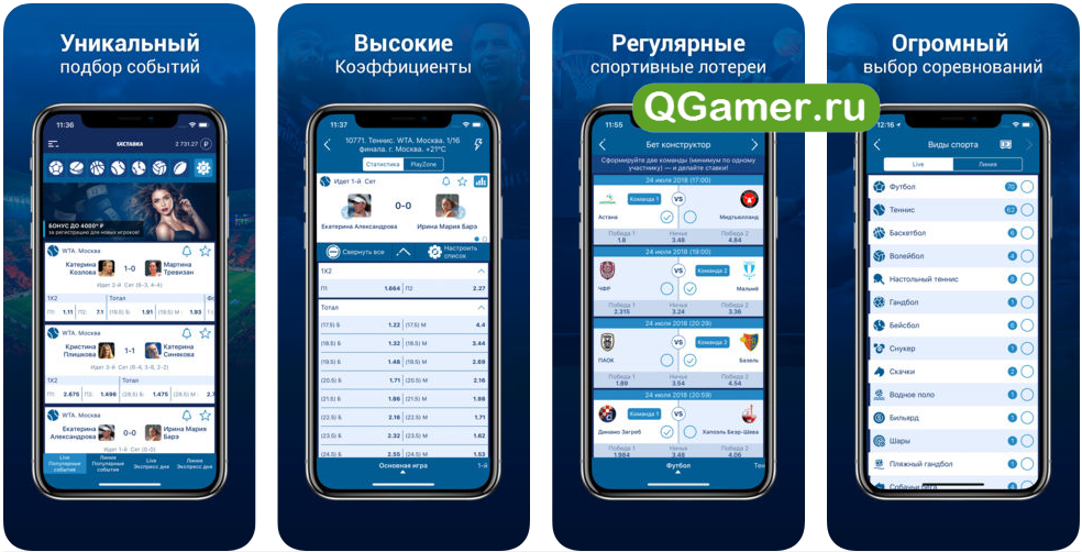 ТОП-5 проверенных приложений букмейкеров для ставок на Айфоне