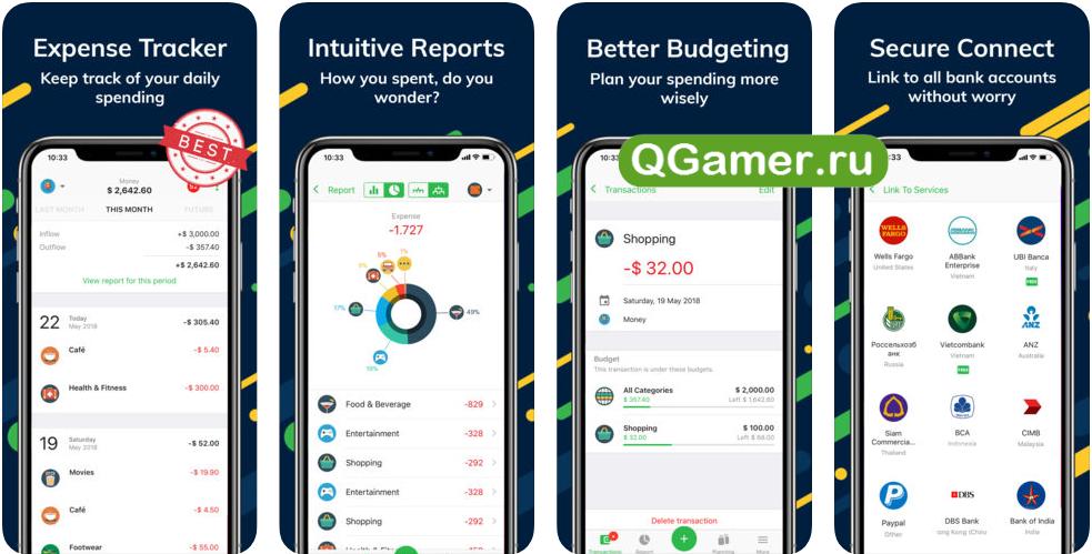 ТОП-7 эффективных приложений на iPhone для полного учета расходов и доходов