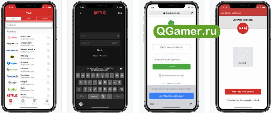 ТОП-7 надежных программ на iPhone для хранения любых паролей
