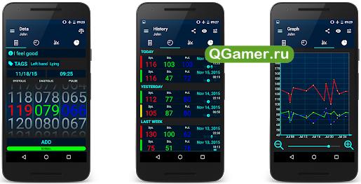 ТОП-5 доступных приложений для измерения давления для Андроид