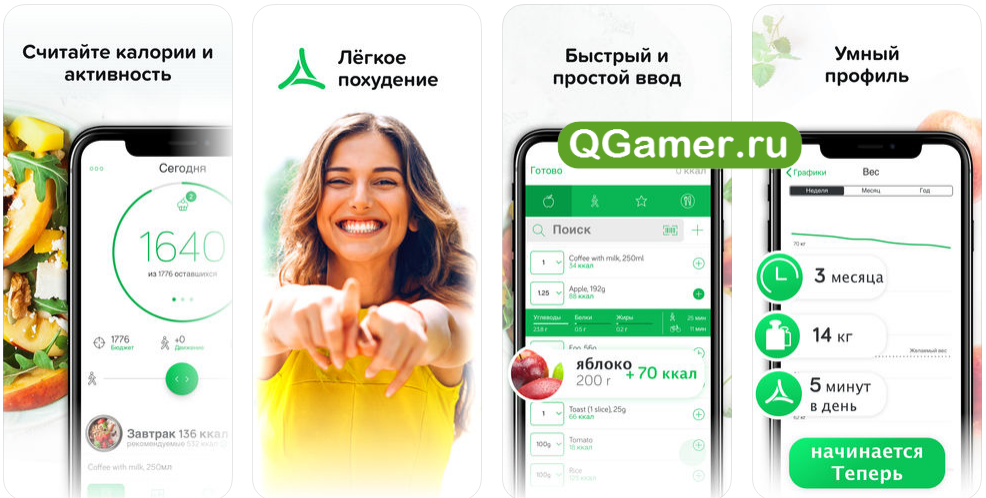 Лучшие приложения для похудения iphone