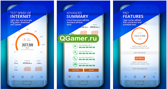 ТОП-5 приложений для измерения скорости интернета на Android
