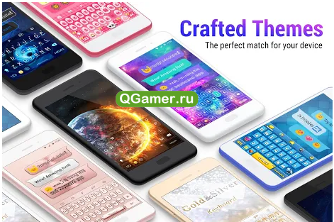 ТОП-7 красивых приложений клавиатур для Android