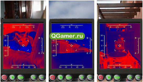 ТОП-5 интересных приложений тепловизоров для Андроид
