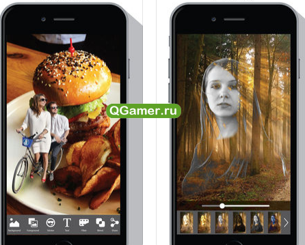 Как вырезать фон фото на Айфон - Cut & Paste Photo