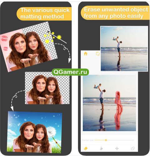 Как редактировать фото на Айфон и Андроид при помощи приложения Pro KnockOut