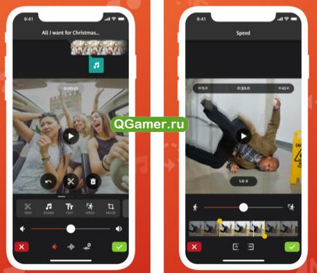 Отличный видеоредактор на Айфон и Андроид - Videoshop