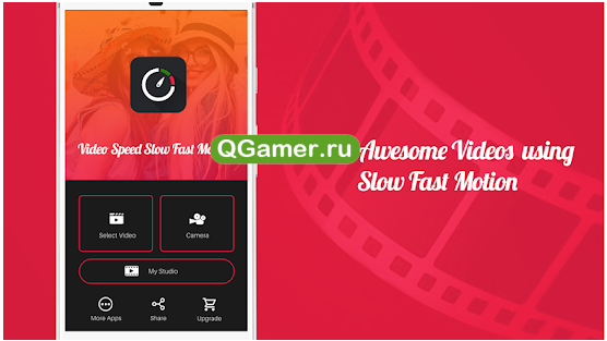 Приложение для замедления/ускорения видео на Андроид - Video Speed : Fast Video and Slow