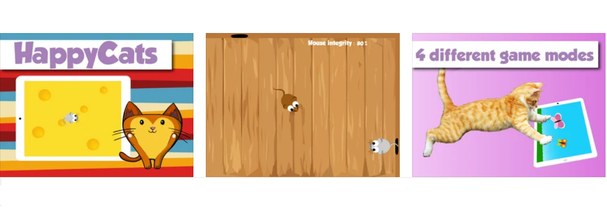 HappyCats games for Cat